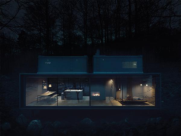Vipp Toilet Brush : Vipp shelter u design Архитектура u Статьи